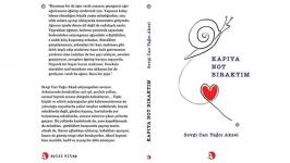 Sevgi Can Yağcı Aksel'den yeni kitap: Kapıya Not Bıraktım