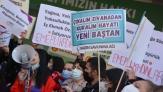 """Ankara'da kadınlar alandaydı: """"Yaşasın mücadelemiz, yaşasın 8 Mart"""""""