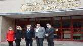 Rektör Ünüvar'dan İLEF'e ziyaret