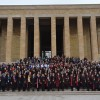 Ankara Üniversitesi 8 Mart'ta Anıtkabir'deydi