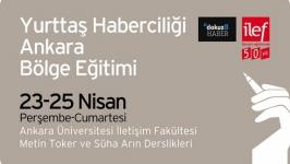 Yurttaş Haberciliği Ankara Bölge Eğitimi başlıyor