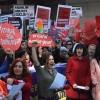 Ankara'da Kadınlar Günü kutlandı