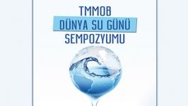 TMMOB'danDünya Su Günü Sempozyumu