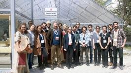 KampüSanat'ta arkeolojik kazı alanı açıldı