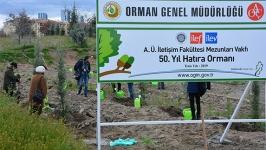 İLEV'den ilk mezunların 50'nci yılı için hatıra ormanı