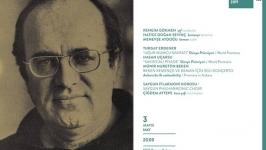 Uğur Mumucu için yazılan klasik müzik eserleri, dünya promiyerleriyle CSO'da