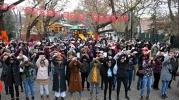 """Ankaralı kadınlardan """"Las Tesis"""" danslı protesto"""