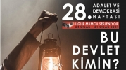 28'inci Adalet ve Demokrasi Haftası başladı: Etkinlikler çevrimiçi yapılacak
