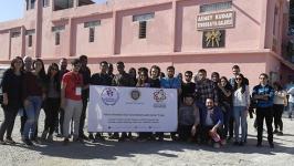 AÜ öğrencileri, SKS gezisiyle Edremit-Ayvalık bölgesindeydi