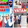 Spor manşetlerinde AKP sloganları