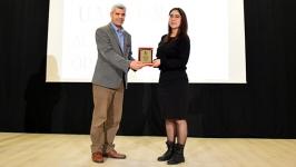 GÖRÜNÜM muhabirine Altın Kalem Ödülü