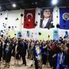 İLEF'liler pankartlarla mezun oldu