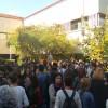 Cebeci saldırısı Rektörlük önünde protesto edildi
