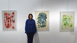 Meltem Özdemir'in resim sergisi açıldı