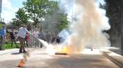 İLEF'te yangın tatbikatı yapıldı